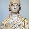 A bust of the Goddess of Concordiae Africanvs.