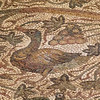 "Detail of the mosaic ""carpet""."