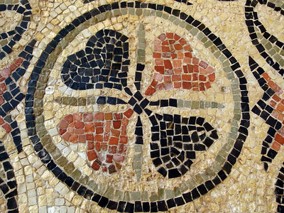 Mosaic detail.
