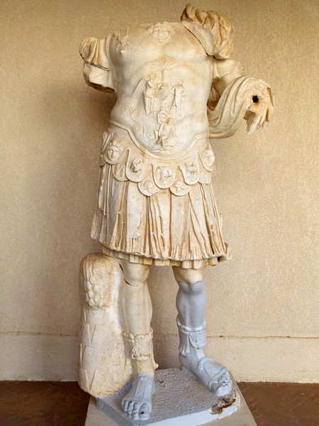 Statue at the Sabratha Museum.