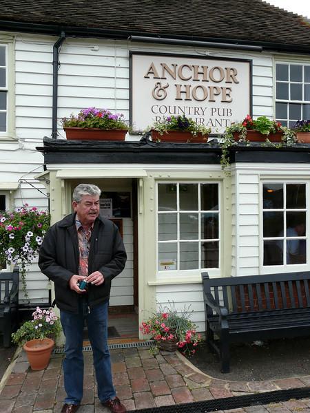 GA at the Anchor & Hope pub in Kent.