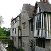 The East front of Ightham Mote.