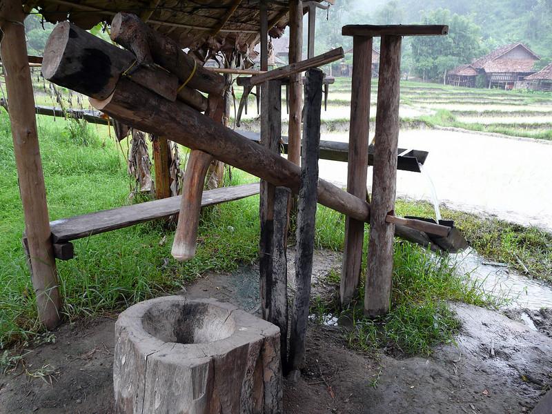 Irrigation at Baan Tong Luang Village, Chiang Mai.