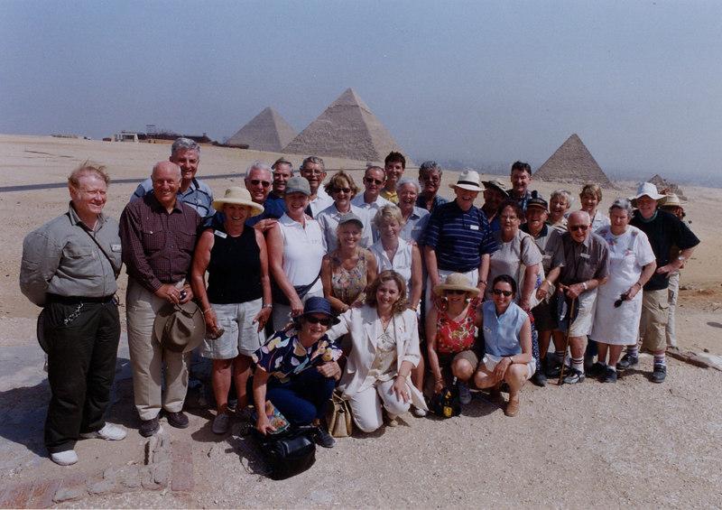 CTC 2003 Group Shot at Giza.