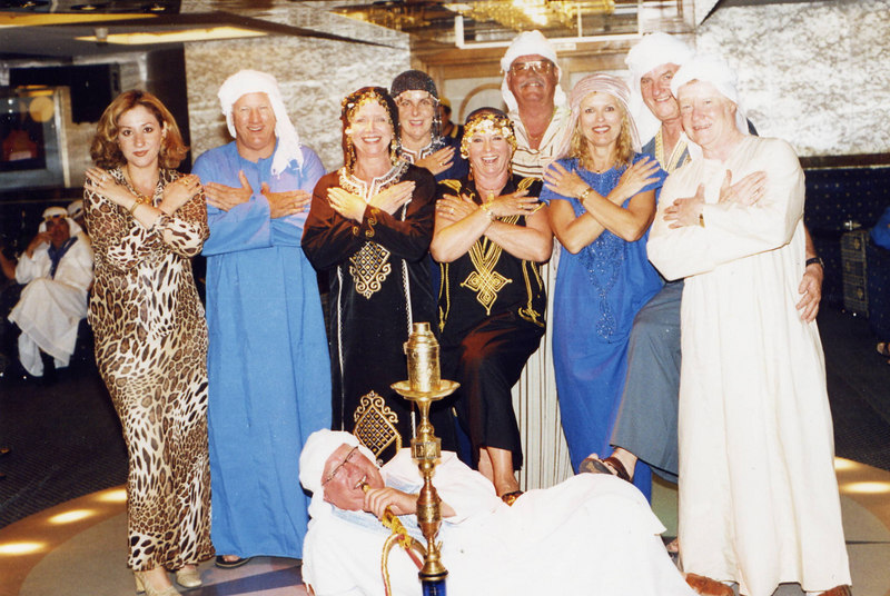 CTC 2003 Nile Cruise dress up party.