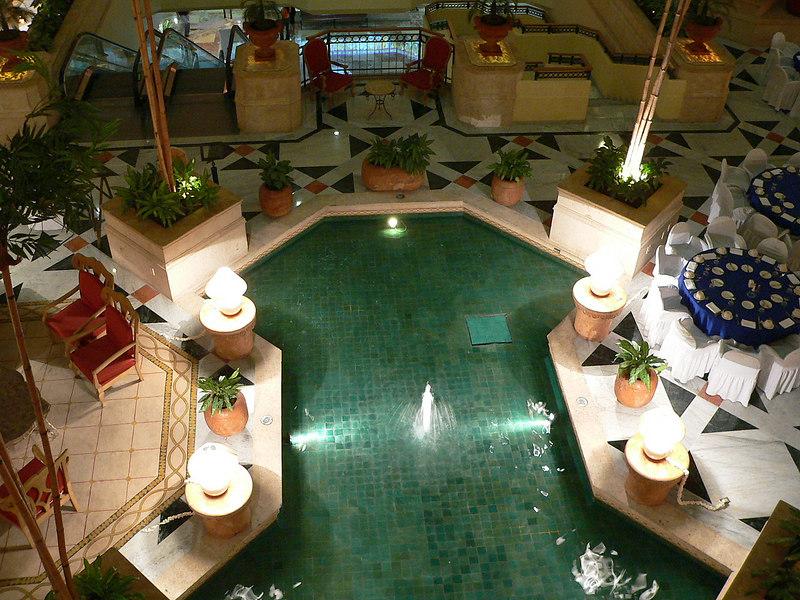 Hotel foyer, Merida, Yucatan, Mexico