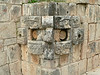 Another face at Uxmal, Mexico