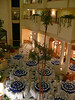 Restaurant in foyer, Merida, Mexico