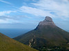En route to the top of Table Mountain.