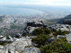 From the top of Table Mountain.