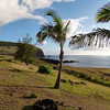 View from Iorana Hotel, Easter Island.