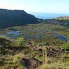 Visit to Rano Kau, Easter Island.