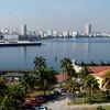 Havana Skyline taken from El Morro Fortress.