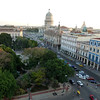 View of Parque Central and the Capitol building from the roof top of our hotel.