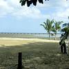 En route to Panama la Vieja (Old Panama).