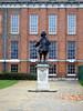 William III statue at Kensington Palace.
