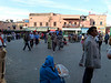 Leaving the Medina at Marrakech.