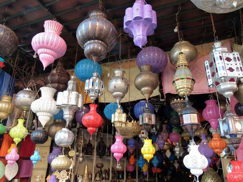 Lamp Shop, Marrakech.