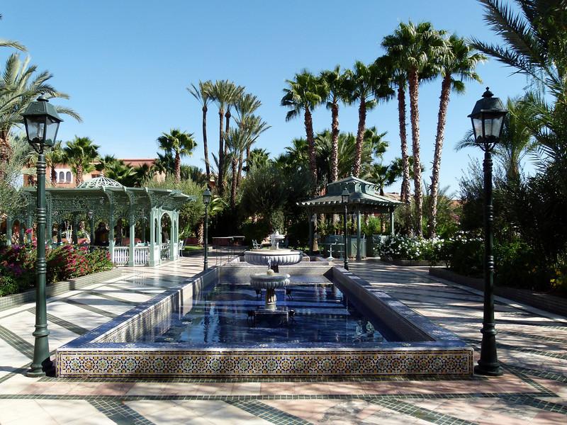 Hotel grounds - Palmeraie Golf Palace, Marrakech.
