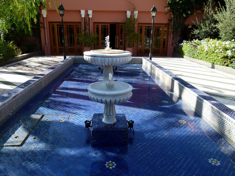 Hotel Grounds  - Palmeraie Golf Palace, Marrakech.