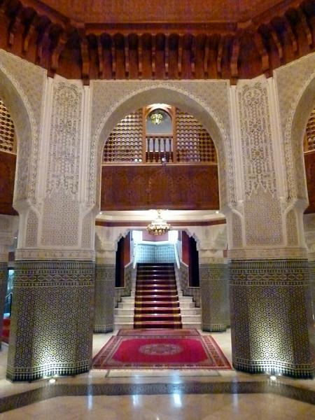 Foyer - Palmeraie Golf Palace, Marrakech.