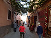 In the Medina at Marrakech.