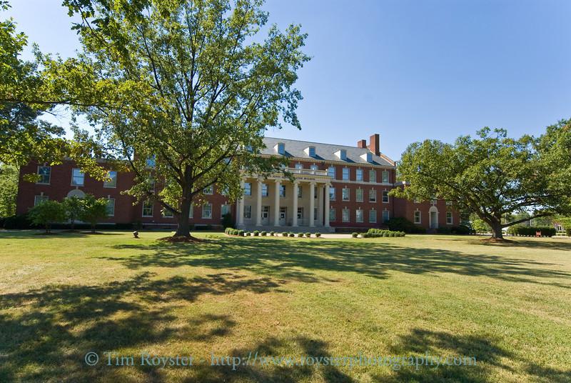 Barnard-Jone Administration Building at Kentucky Wesleyan in Owensboro, Ky.
