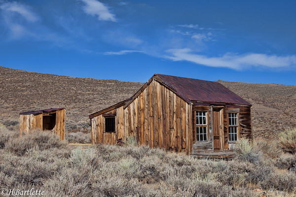 Bodie, on the outskirts of town