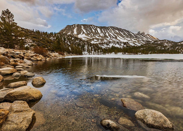 Spring thaw on Convict Lake
