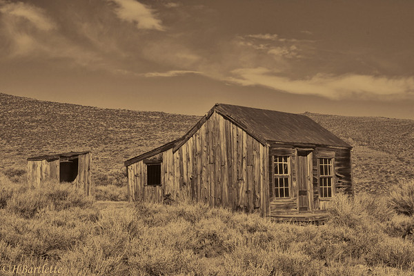 Bodie outskirts home