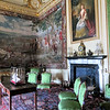 The Green Writing Room.  The tapestry is one of the world-renowned Marlborough tapestries.  This one depicts the French Marshal Tallard surrending to Marlborough.
