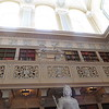 All grand homes must have a library.  This one is called the Long Library and it's a very impressive room.  However I only photographed this end of the room because the rest of it was full of tourists in tank tops and flip-flops.  That kind of spoiled the effect.