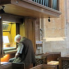 This old gentleman was kind of noodling away on the organ the entire time we were in the church.  I think he nodded off now and then, as well.