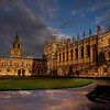 Tom Quad of the Christ Church College