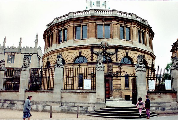 Sheldonian Theatre Oxford England - Jul 1996