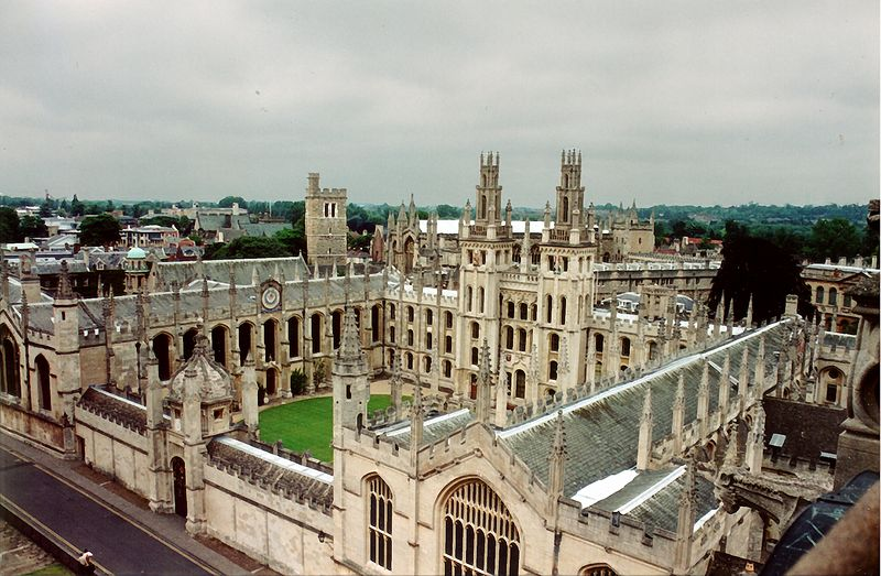 All Souls College Oxford England - Jul 1996