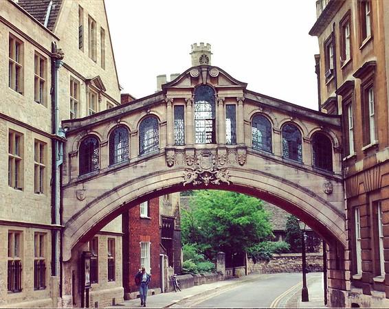 Bridge of Sighs Oxford England - Jul 1996