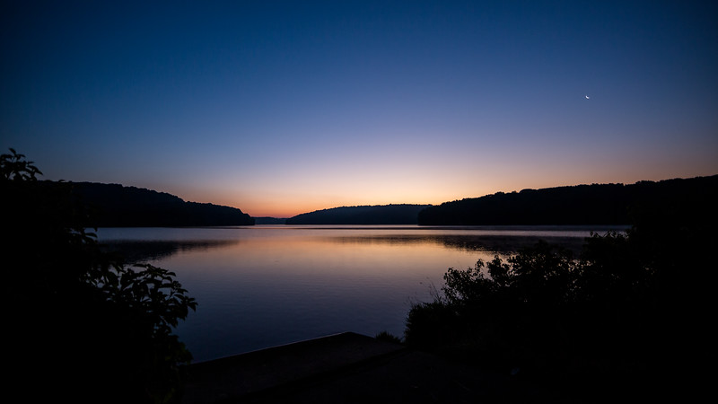 Dawn Over Lake Arthur