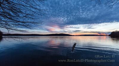 Lake Arthur Sunset