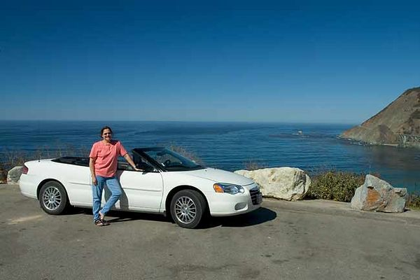 CHRYSLER SEBRING CONVERTIBLE RENTAL CAR