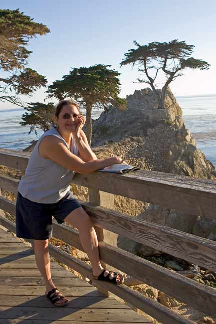 KIM AND LONE CYPRESS
