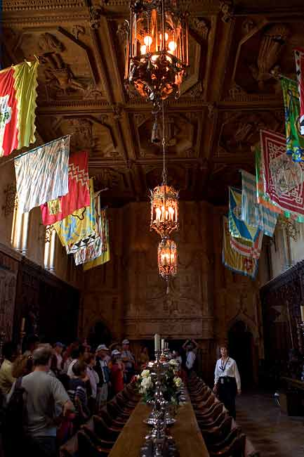 DINING ROOM-HEARST CASTLE