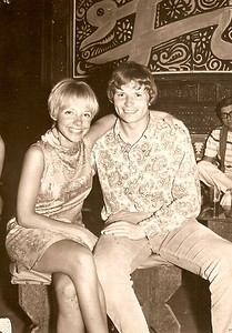 BAR SOLARIUM- This photo is in Club Haima (above Bar Solarium). Jimi Hendrix, Joe Cocker, Them and others player here (pretty sure). Photo of Scot Thistletwaite and Bonnie Naef.