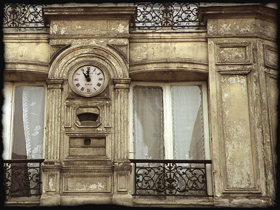 Clock,Paris