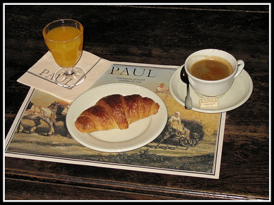 Breakfast,Paris