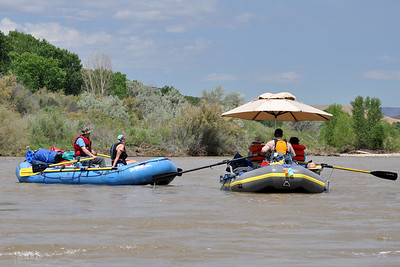 Other members of the rafting party.
