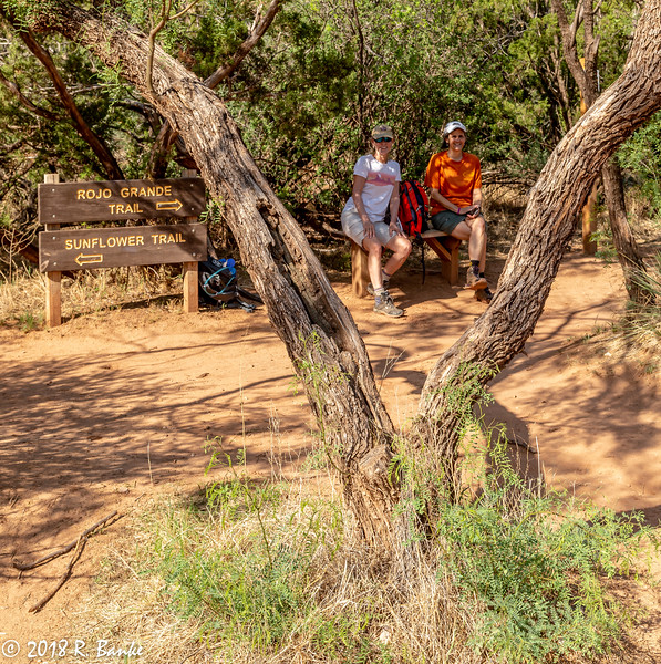Teresa & Claire, Palo Duro Canyon State Park