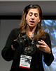 Cristina Mittenmeier gave talks on using Sony cameras for photojournalism in remote areas.