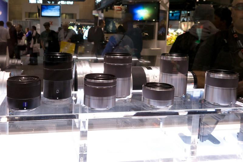 NEX Mockup lenses.