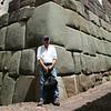 Inca wall.